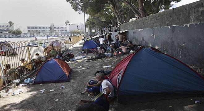 Áll a bál a görögöknél: sztrájkot hirdettek a migránstáborok miatt