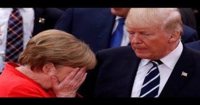 Trump nagyon keményen beszólt Merkelnek